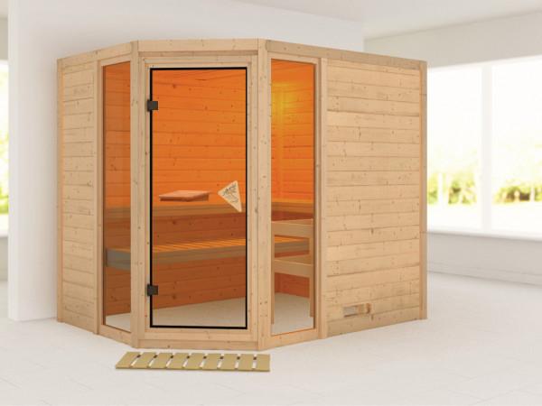"Sauna Massivholzsauna ""Sinai 3"""