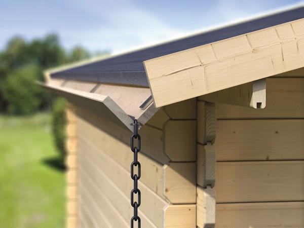 Holzdachrinnen-Set für Flachdächer, kdi