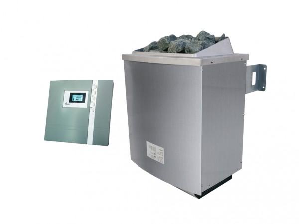 SPARSET 9 kW Saunaofen inkl. Steuergerät Premium