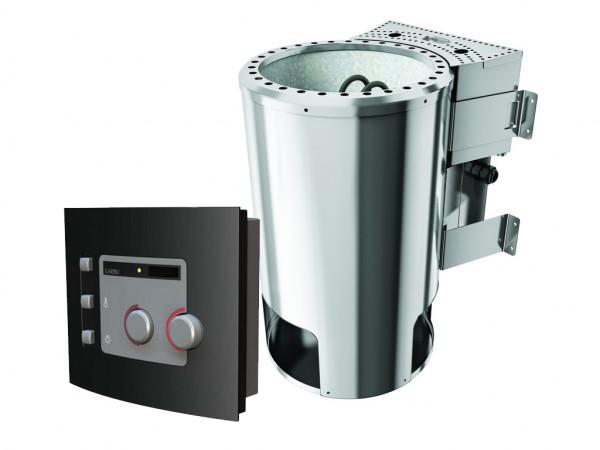 3,6 kW Plug & Play Bio-Kombiofen mit externer Steuerung Modern