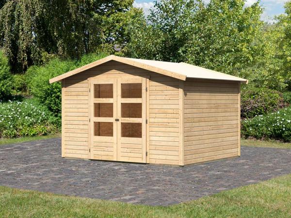 Gartenhaus Carlton 5 19 mm naturbelassen