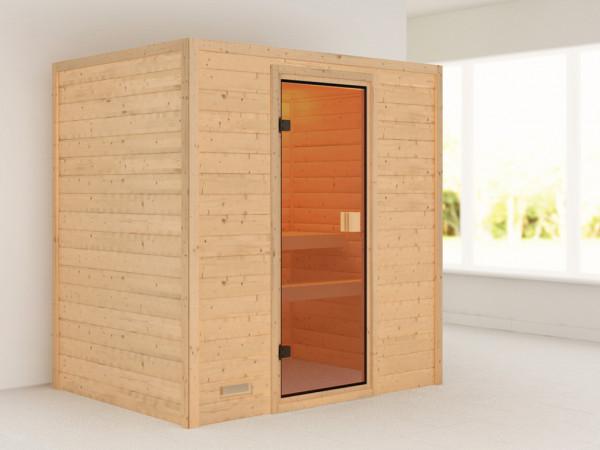 Sauna Massivholzsauna Ronja