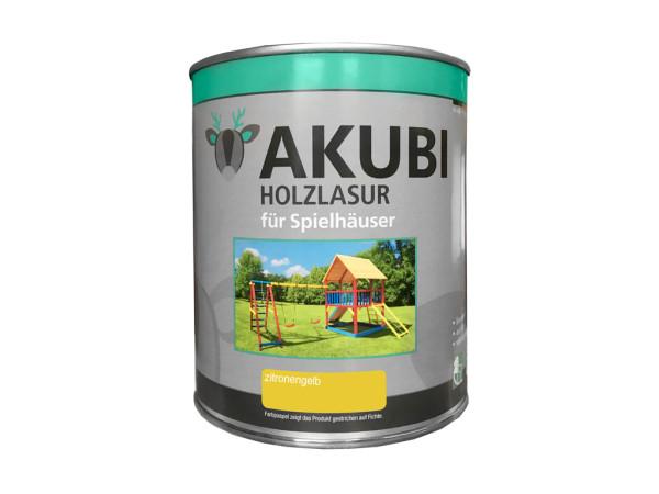 Holzlasur Farbsystem Set 750 ml Zitronengelb