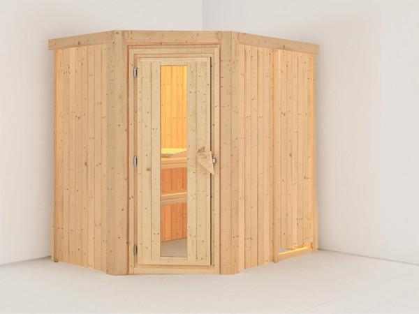 Sauna Systemsauna Saja Energiespartür