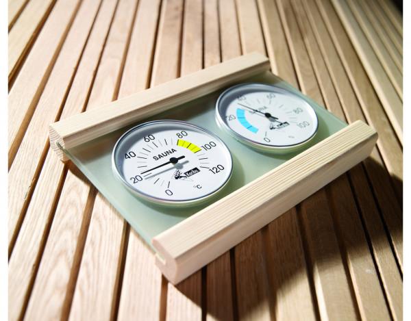Klimamessstation Premium für Saunen