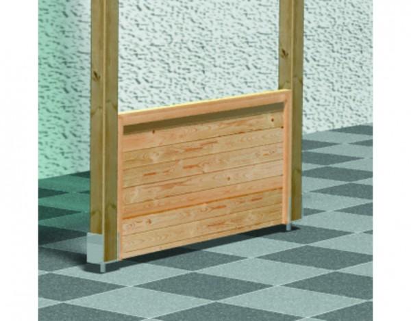 Frontelement halbhoch ECO kesseldruckimprägniert für Terrassenüberdachung