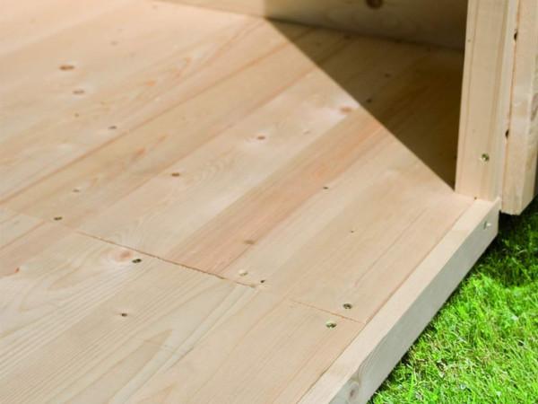 Fußboden passend für Sockelmaß 183 x 183 cm naturbelassen