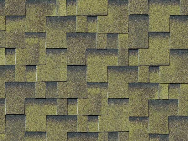 Dachschindeln Asymetrisch zedernholz