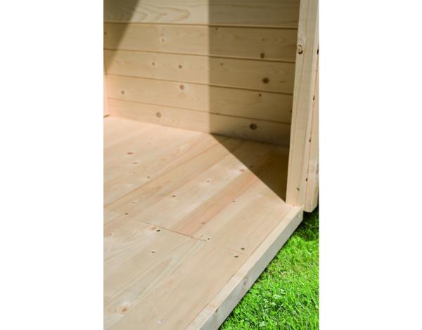 Fußboden für Gartenhaus Carlton 4 + Stockach 4 naturbelassen