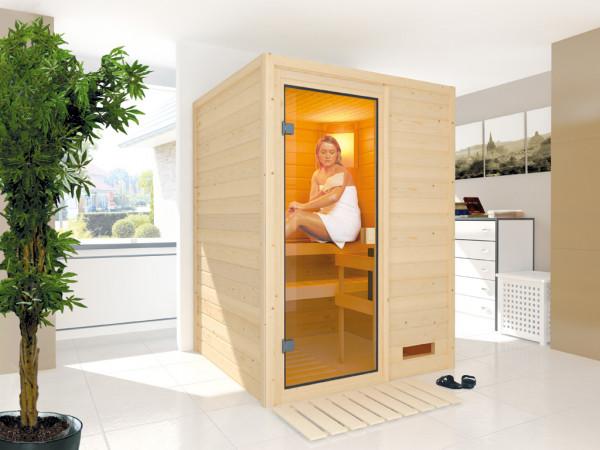 "Sauna Massivholzsauna ""Nadja"""