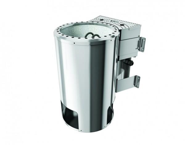 230 V Plug & Play - Bio-Kombiofen 3,6 kW mit externer Steuerung Modern