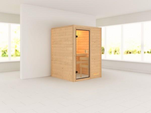 Sauna + Liegen