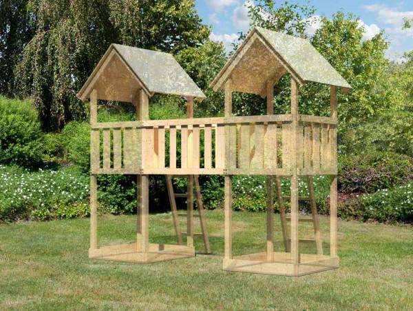 Spielturm Brückenanbau Zubehör für Lotti, Danny, Frieda