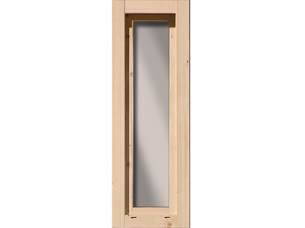 Fenster naturbelassen für 38 mm Gartenhaus