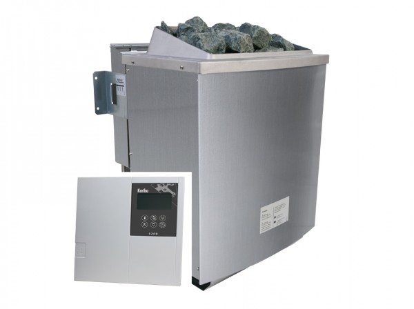 SPARSET 9 kW Bio-Kombiofen inkl. Steuergerät Classic