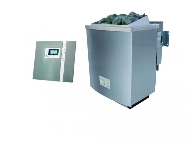 SPARSET 9 kW Bio-Kombiofen inkl. Steuergerät Premium