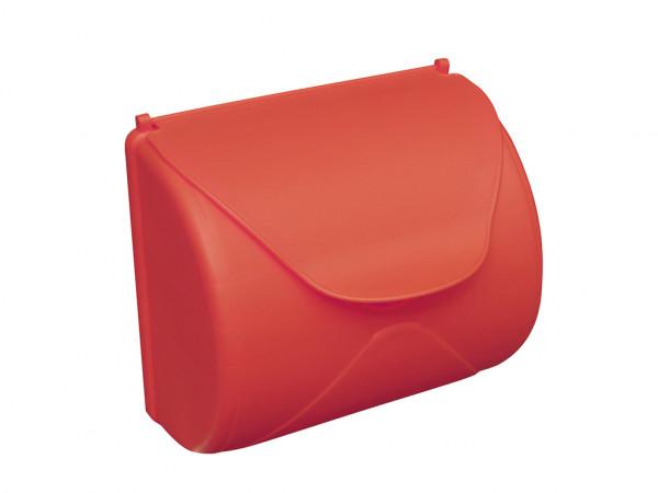 Briefkasten Kunststoff rot