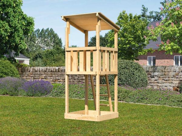 Spielturm Anna naturbelassen