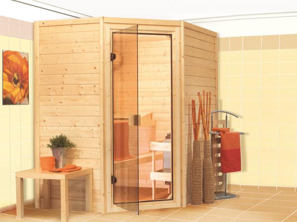 Sauna Massivholzsauna Cilja