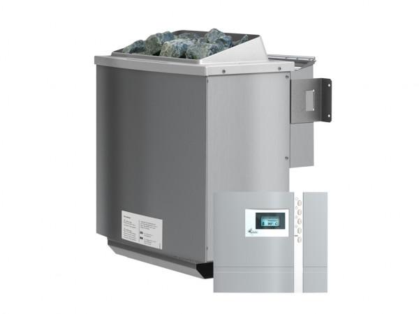 SPARSET 4,5 kW Bio-Kombiofen inkl. Steuerung Premium