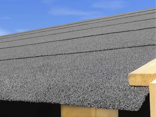 Selbstklebende Dachbahn für Satteldächer schwarz