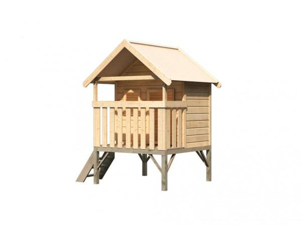 Spielhaus Mini naturbelassen