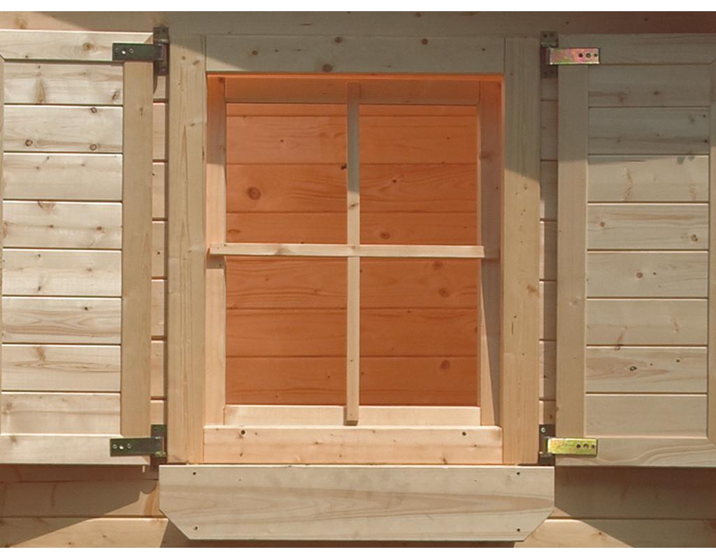 Fenster gerade 38 mm | Garten- & Gerätehaus-Fenster ...